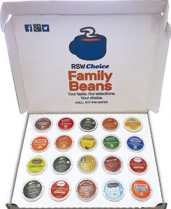 Mix and Match K-Cup Box from Roaring Spring Water